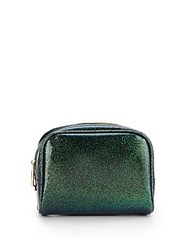 Deux Lux Mercury Glitter Jelly Cosmetic Bag Green