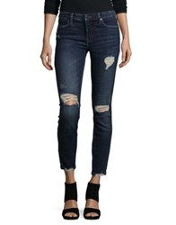 Blank Nyc Distressed Jeans Blue