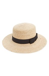 Women's Sole Society Floppy Straw Hat
