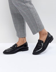 Selected Leather Loafer Black