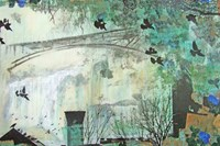 Marmont Hill Genevieve Coutur Wall Art Green