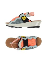 Y 3 Footwear Sandals Women Orange