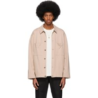 Christophe Lemaire Pink Jersey Jacket