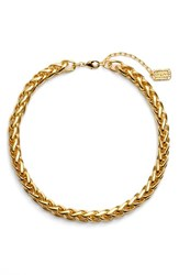 Women's Karine Sultan Braided Link Collar Necklace