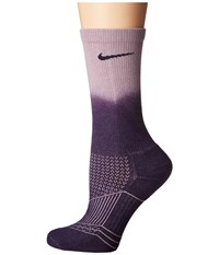 Nike Dri Fit Cushion Crew 3 Pair Purple Dynasty Plum Fog Purple Dynasty Women's Crew Cut Socks Shoes