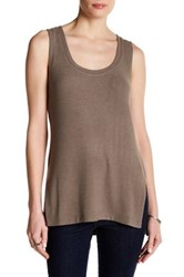 Heather By Bordeaux Hatchi Tank Brown