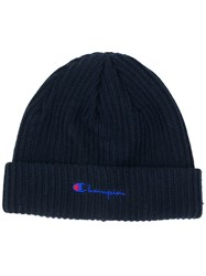 Champion Logo Embroidered Beanie Unavailable