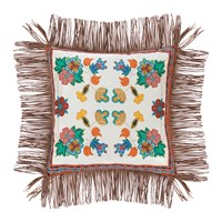 Etro Rushmore Tassel Edged Cushions Set Of 3 Beige
