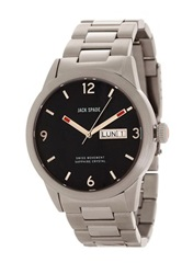 Jack Spade Men's Glenwood Stainless Steel Watch Metallic