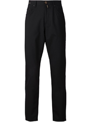 Pt05 Straight Leg Trousers Black