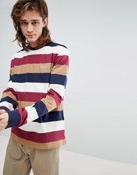 Primitive Long Sleeve T Shirt In Stripe White