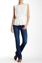 Level 99 Sasha Mid Rise Slim Bootcut Jean Blue