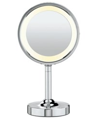 Conair 5X Magnified Lighted Makeup Mirror Bedding Chrome