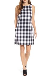 Tommy Bahama Gingham Gables Shift Dress Black