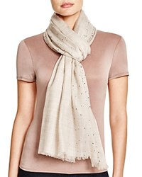 Fraas Shimmer Scarf Taupe
