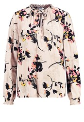Saint Tropez Blouse Creme Multicoloured