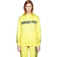 Ashley Williams Yellow 'Gimmie Five ' Track Hoodie