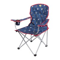 Joules Foldable Picnic Chair Blue Dog