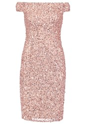 Adrianna Papell Cocktail Dress Party Dress Rose Gold