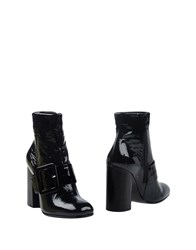 Janet And Janet Ankle Boots Dark Green