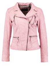 Oakwood Leather Jacket Light Pink
