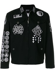 Ktz Scout Patch Coach Jacket Black