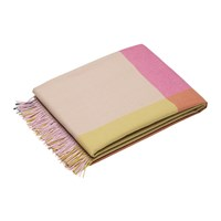 Vitra Color Block Blanket Pink Beige