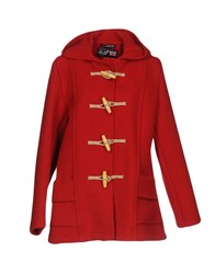 Gloverall Coats Red