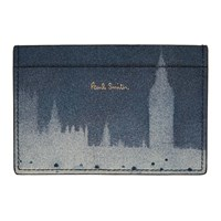 Paul Smith Blue London Photo Card Holder