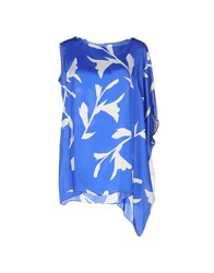 1 One Topwear Tops Women Blue