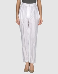 Alex Vidal Casual Pants White