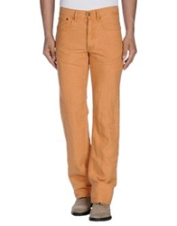 Marlboro Classics Casual Pants Orange