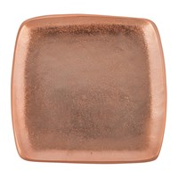 Julia Knight Eclipse Rose Gold Square Tray Copper