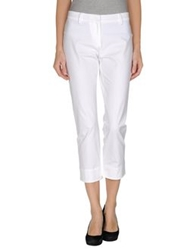 Thinple Casual Pants White