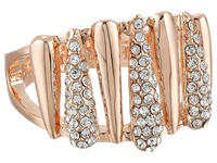 Vince Camuto Silver Springs Crystal Ring Rose Gold Crystal Ring