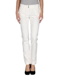 Dolce And Gabbana Denim Pants White