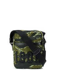 Dsquared2 Icon Camouflage Print Crossbody Bag Green