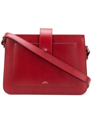 A.P.C. Albane Bag Red