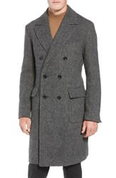Sanyo Gaultier Wool Top Coat Charcoal