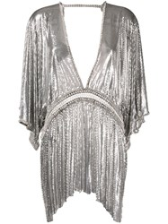 Paco Rabanne Embellished Chainmail Tunic Top 60