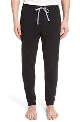 Men's Naked French Terry Lounge Pants Black