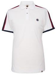 Pretty Green Tilby Moon Polo White