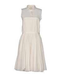 Boy By Band Of Outsiders Dresses Knee Length Dresses Women White