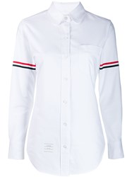Thom Browne Grosgrain Armband Oxford Shirt 60