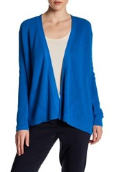 Chaus Long Sleeve Ribbed Cardigan Blue