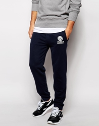 Franklin And Marshall Varsity Slim Fit Joggers Navy