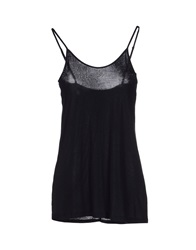 E Go' Sonia De Nisco Tank Tops Black