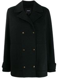 Theory Military Peacoat Black