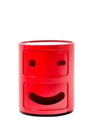 Kartell Componibili Smile Container Red