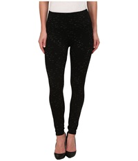 Lysse Mara Ponte Leggings Black Slub Women's Casual Pants
